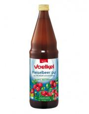 Voelkel, Preiselbeer pur, 100% Muttersaft, 0,75l incl. 0,15 EUR Pfand, Flasche