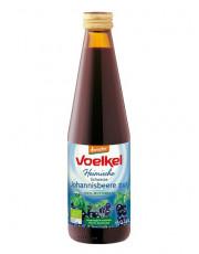 Voelkel, Schwarze Johannisbeere pur, 100% Muttersaft, 0,33 l incl. 0,15 EUR Pfand, Flasche #