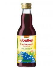 Voelkel, Traubensaft rot, demeter, 0,2 l incl. 0,15 EUR Pfand, Flasche