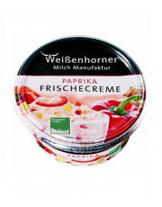 Weißenhorn, Paprika Frische Creme, mind. 25% Fett, 150g Becher