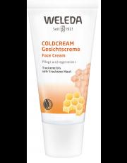 Weleda, Coldcream, für trockene und sehr trockene Haut, 30ml Tube