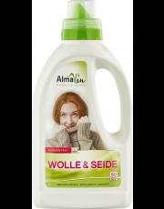 AlmaWin, Wolle & Seide Waschmittel, 0,75L Flasche