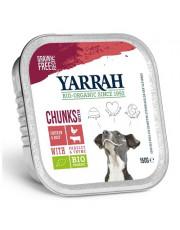 Yarrah, Hundefutter Bröckchen Rind mit Petersilie und Thymian, glutenfrei, 150g Aluschale