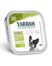 Yarrah, Hundefutter mit Huhn und Gemüse, glutenfrei, 150g Aluschale