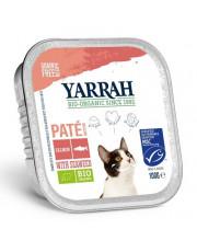 Yarrah, Katzenfutter Paté Lachs mit Meeresalgen, 100g Aluschale